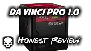 DaVinci Pro 1.0 3D Printer - Honest Review