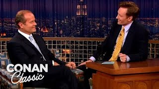 Kelsey Grammer Does Sideshow Bob  'Late Night With Conan O'Brien'