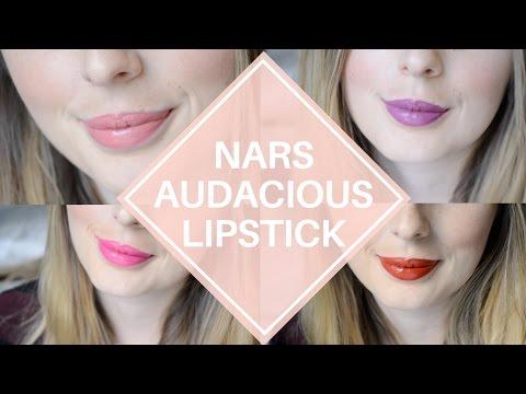 Nars Audacious Lipstick Review Kate Apoline Stefania Shirley
