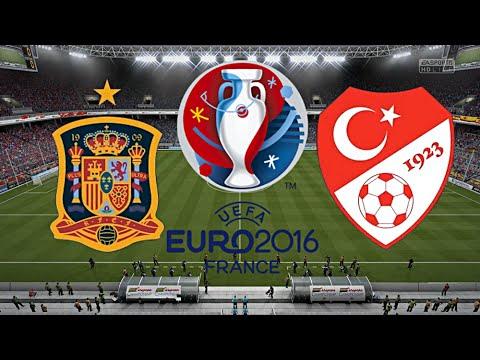 Spanien Türkei Em