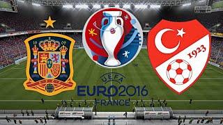 SPANIEN gegen TÜRKEI - EM 2016 FRANKREICH (Gruppenphase 1.Spieltag) ◄ESP #04►