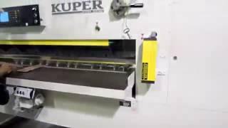 Гильотинные ножницы EFS Kuper для рубки шпона