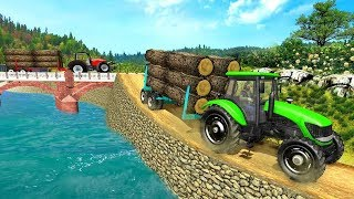 Real Tractor Trolley Cargo Farming Simulation Game (Trator Agricola) - Android gameplay screenshot 3