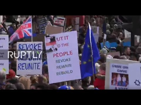 LIVE: The People's Vote March Part 2