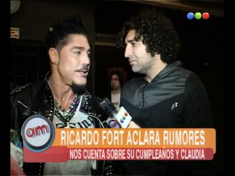 Ricardo Fort aclara rumores - AM