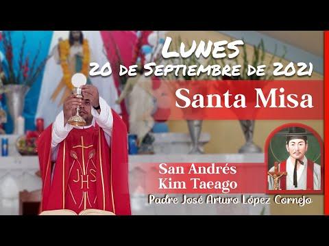 ✅ MISA DE HOY lunes 20 de Septiembre 2021 - Padre Arturo Cornejo