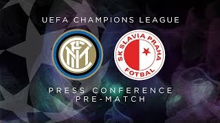 INTER vs SLAVIA PRAHA | LIVE | Pre-Match Press Conference Conte + Handanovic [SUB ENG]