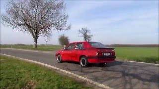 Alfa Romeo 75 Twin Spark S 1988 first spring ride.