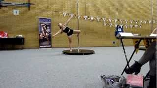 Inter-Uni Pole Competition. Essex Beginner Winner - OLIVIA