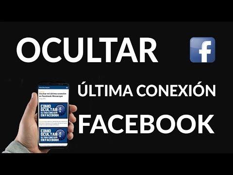 Ocultar / Quitar Última Conexión en Facebook Messenger