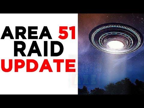 Storm Area 51 Plan UPDATE & (U S  Responds to Area 51 Raid