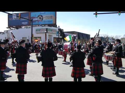 St Patrick's Day Massed Bands Exhibition 3.22.2015 in Allentown, PA