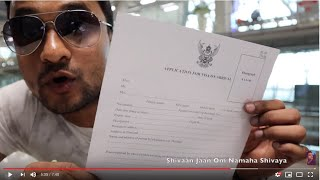 Thailand VISA For Indian Tourists - How To Get Thai VISA ON ARRIVAL at Bangkok International Airport