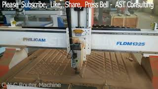 CNC Router Machine for Furniture Design - AST Consulting