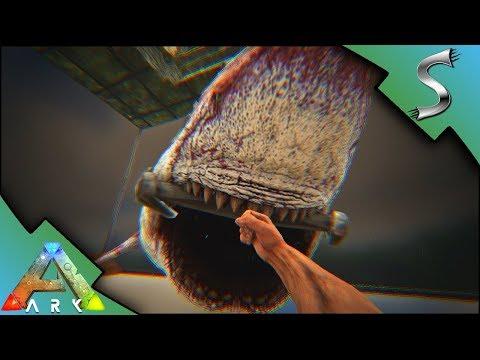 THE SHARK PIT! EVIL SHARKS WITH FRICKEN LASERBEAMS! - Ark: Survival Evolved [S4E32]