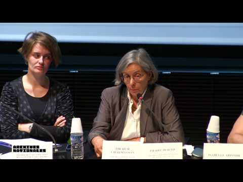 Thérèse Charmasson : Table ronde