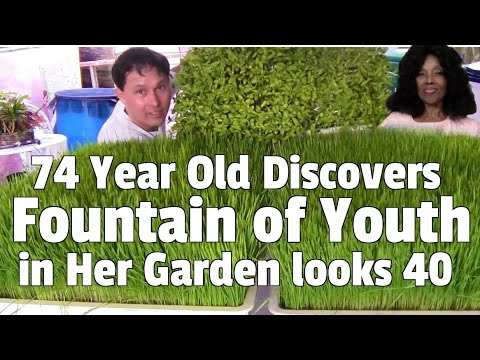 74 Year Old Discovers the Fountain of Youth in Her Garden looks 40