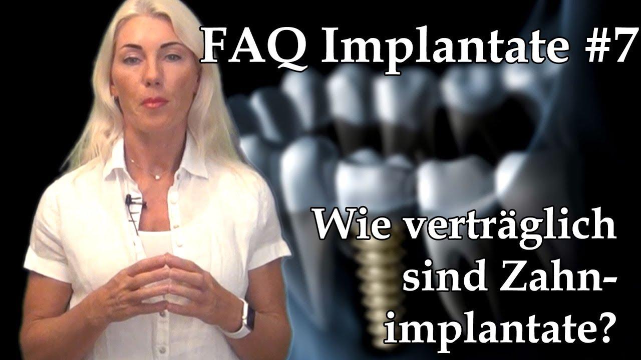 Zahnimplantat Unverträglichkeit