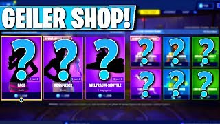 ❌GEILE SKINS TODAY in SHOP! 😱 - NEW OBJECT SHOP in FORTNITE is DA!!