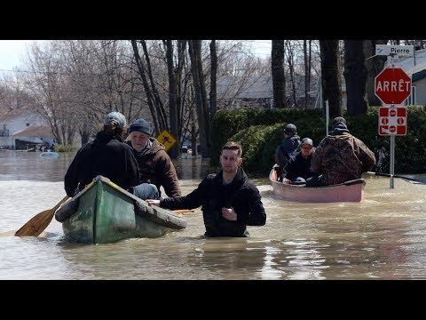 Thousands Flee Flooding Near Montreal After Dike Breach