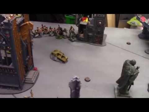 Warhammer 40K Battle Report #3 - Praetorian Guard vs Nurgle Chaos Space Marines