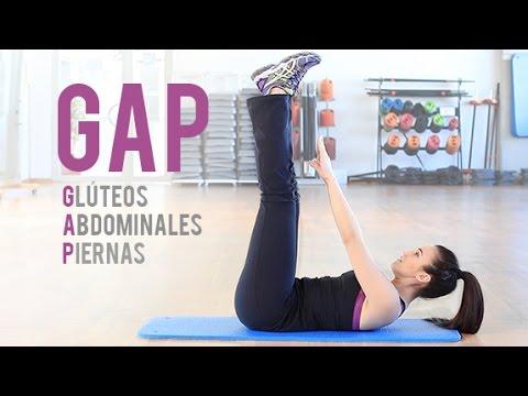 Rutina de gl teos abdominales y piernas gap youtube for Abdominales