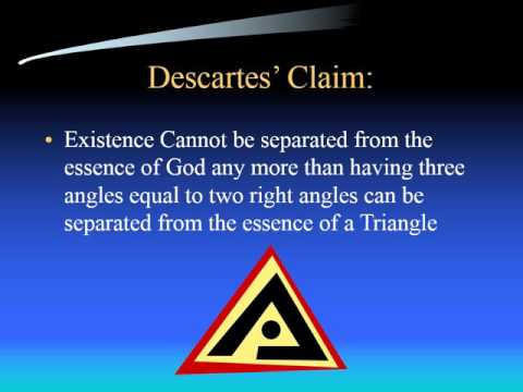 The Ontological Argument: Descartes's Version