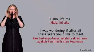 Adele - Hello | Lirik Terjemahan