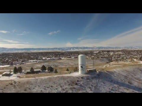 Flying Sheridan County Wyoming--DJI Phantom 3 professional