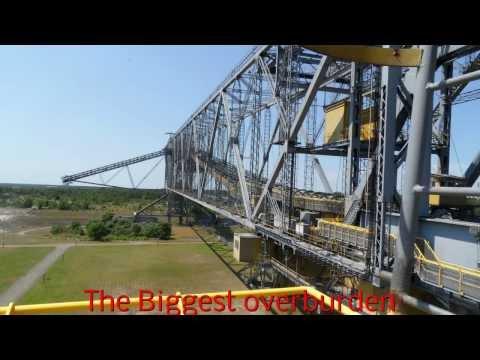F 60 The Biggest overburden conveyor bridge in the world