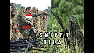 SALUT! MENGAPA SKILL SNIPER TNI INDONESIA PALING BERBAHAYA SE ASIA