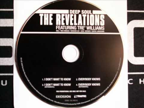 The Revelations, I Don't Want To Know (Promo CD)