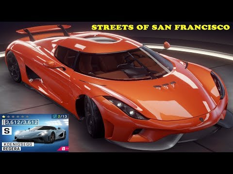 Asphalt 9 | Koenigsegg Regera | 1.14.859 Streets Of San Francisco | Expert Race