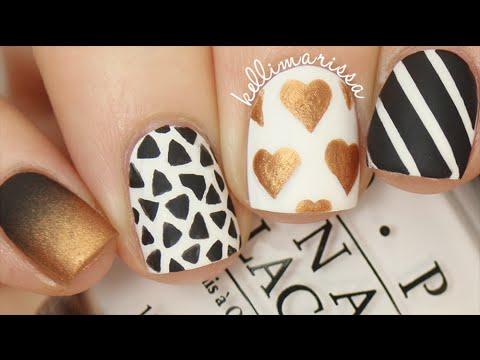 Skittle Tutorial Pt 2 (4 Easy Nail Art Designs!) || KELLI MARISSA