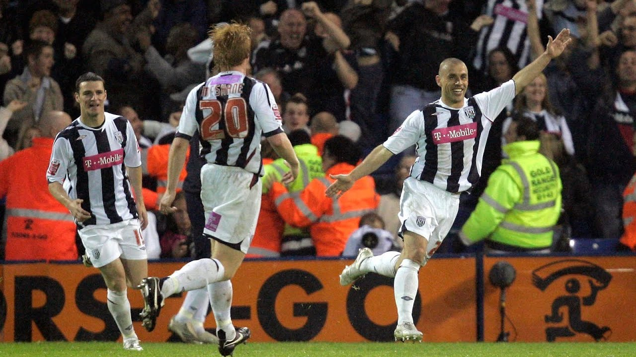 All Of Kevin Phillips League Goals For West Bromwich Albion Youtube