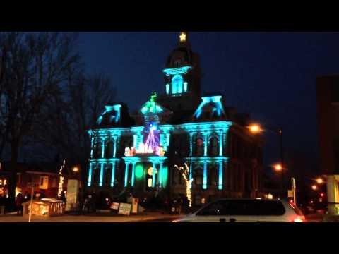 Cambridge Courthouse Lights 2012