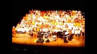 Gran Finale 2014 - Um bom momento para cantar - Coral Infantil