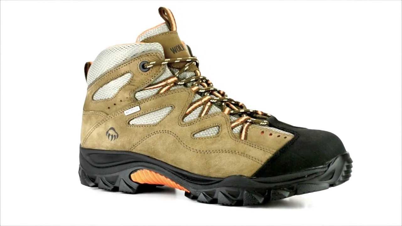 6f983b80540 Men's Wolverine WO2625 Steel Toe Waterproof Hiker Work Boot @ Steel Toe  Shoes com
