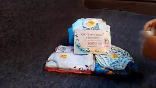 Видео отчет о получении подарочного сертификата на 1000 гривен от торговой марки