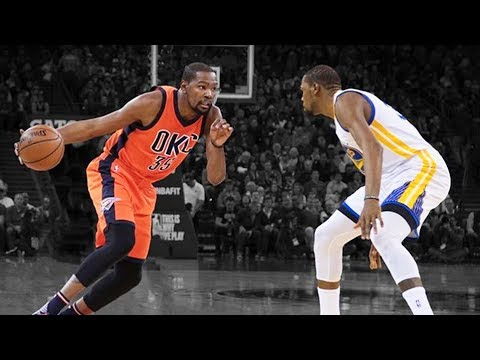 Kevin Durant vs Kevin Durant - Warriors Kevin Durant Meets OKC Thunder Kevin Durant