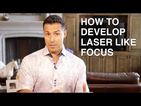 How to develop LASER LIKE focus | Jefferson Santos