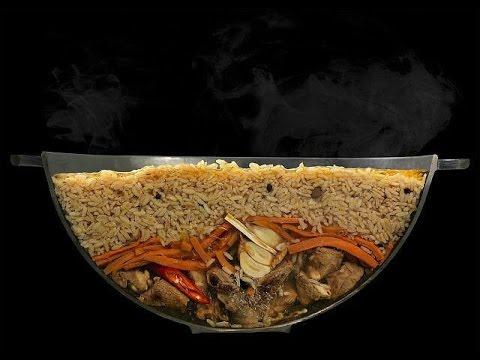 Плов со свининой в мультиварке, рецепт