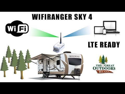 WiFiRanger Sky 4 Internet Booster LTE Cell Service The Great Outdoors RV Greeley Colorado RV Dealer