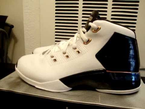 sports shoes 6c5f4 1f0ff usa nike air jordan 17 plus white black copper wires 73dd8 acffc