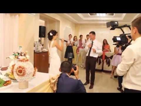 Песня невесты на свадьбе - подарок для жениха (кавер песни Ани Лорак - С первого взгляда)