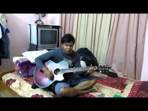 bedona by shunno acoustic cover by Misbah