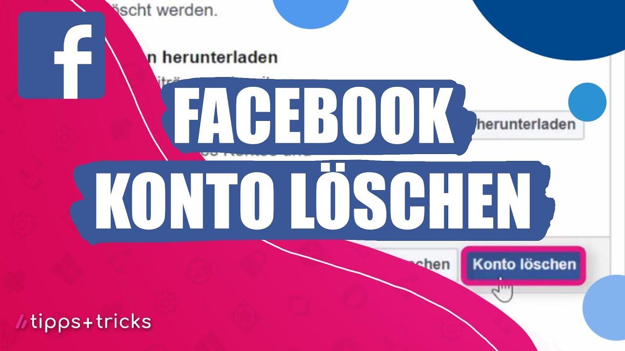 Löschen account How to