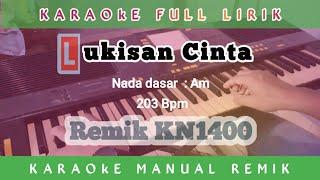 Karaoke Lukisan Cinta || Full lirik Remik palembang