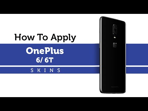 How to Apply Capes India OnePlus 6T / 6 Skins