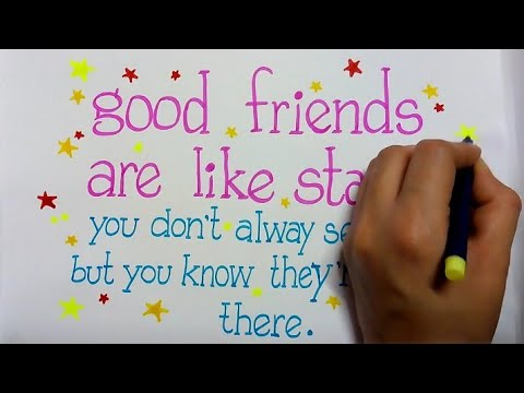 friendship-day-quote-for-greeting-making-||-how-to-draw-friendship-day-poster